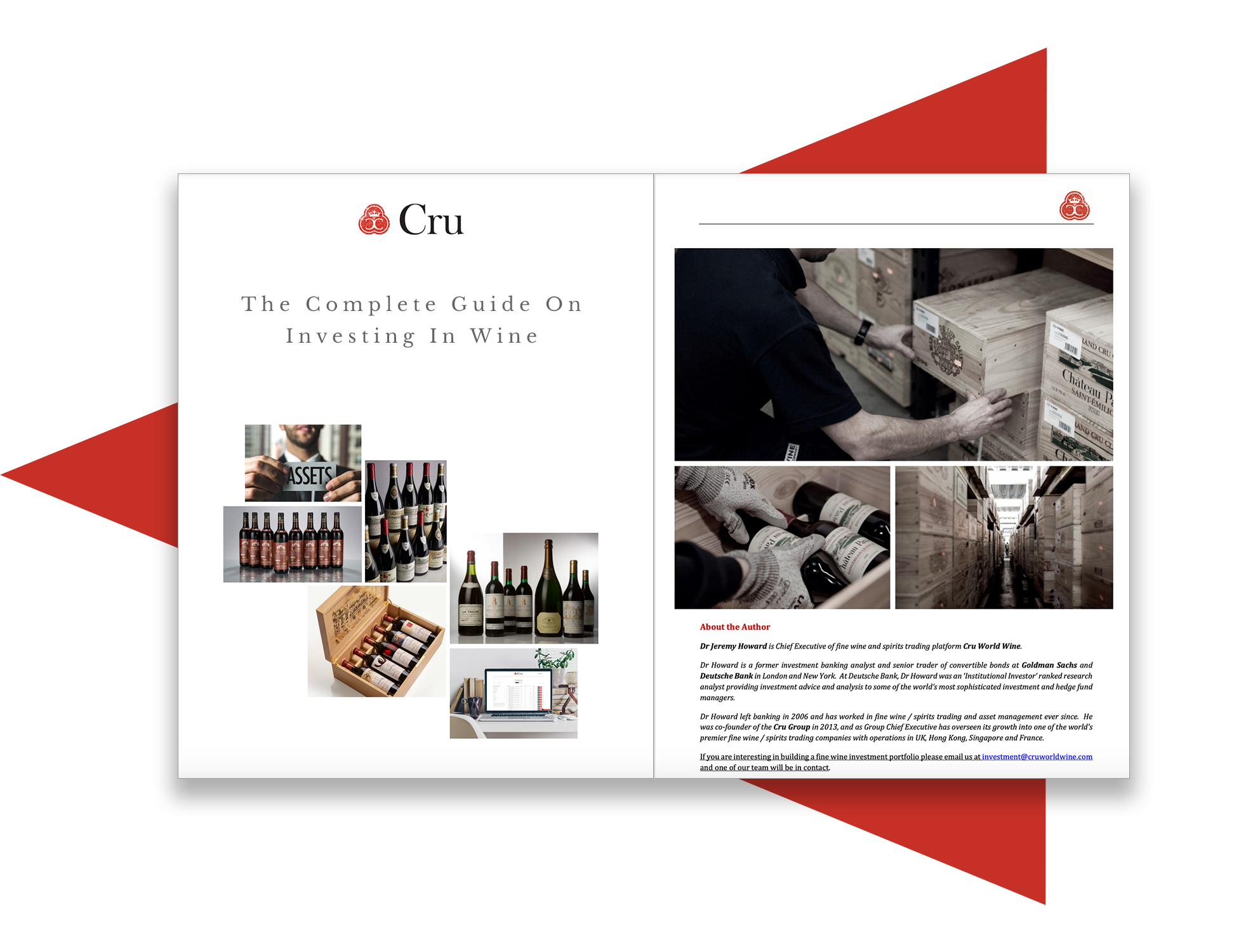 Cru's Complete and Conclusive Free Fine Wine Investment Guide front page